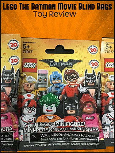 Review: Lego The Batman Movie Blind Bags Toy Review