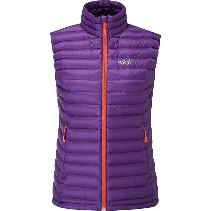 39ae8b499ec Rab Microlight Womens Down Vest Twilight  Amazon.co.uk  Clothing