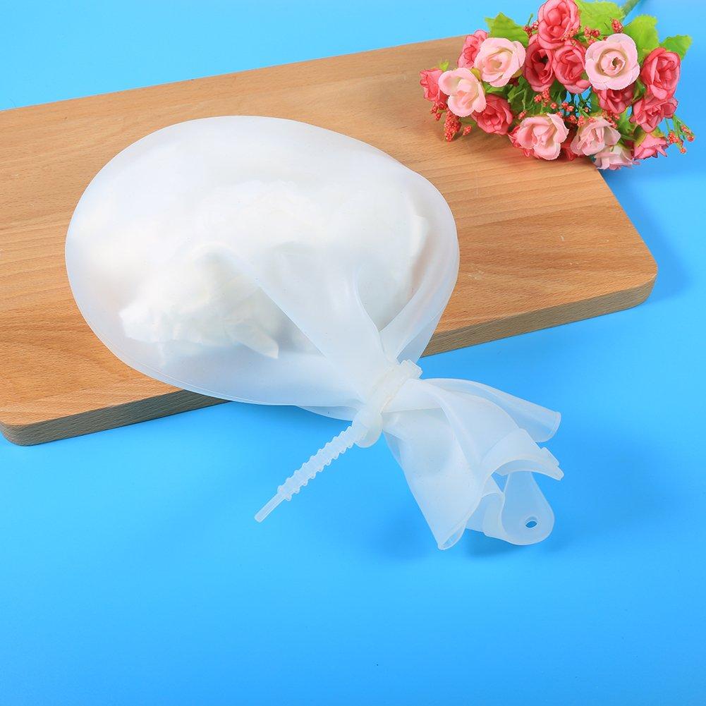 Bolsa de silicona suave reutilizable para amasar la masa de harina herramienta de cocina para hornear para mezclar bolsas de conservaci/ón