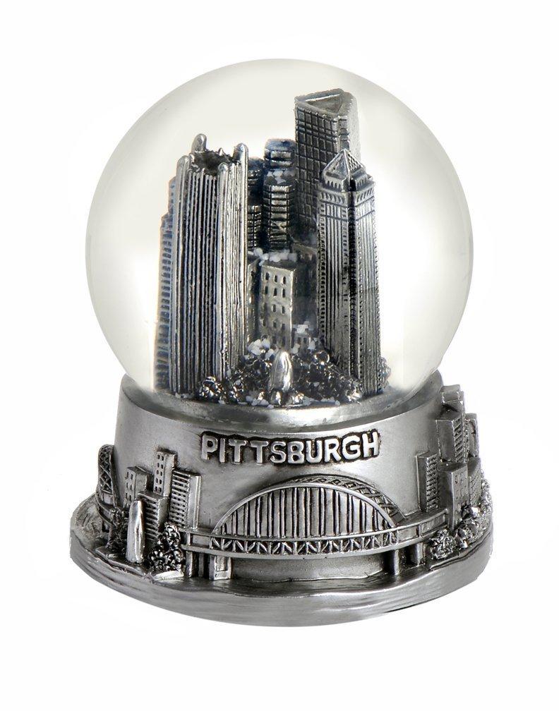 【1着でも送料無料】 Pittsburgh Pennsylvania Snow Snow Globe 65 65 mmシルバー Pennsylvania B006V4UX1U, 明科町:3b2089b7 --- irlandskayaliteratura.org