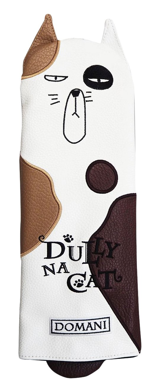 DULLY NA CAT GOLF JAPAN DRIVER HEAD COVER {DOMANI}