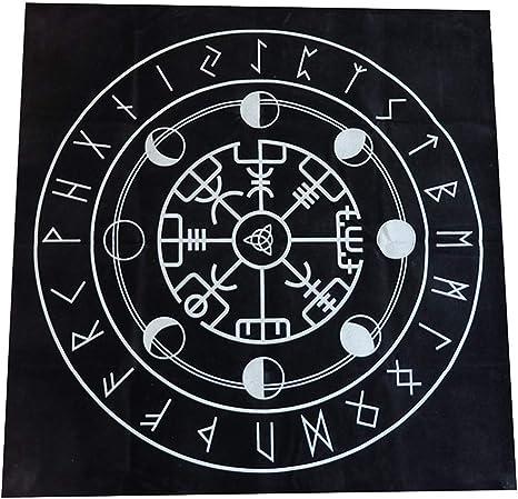 Ganquer 49cm Pagano Altar Triple Astrología Tarot Mantel Juego de Mesa Misterio Estampados - como Imagen Show, b: Amazon.es: Hogar