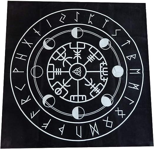 Ganquer 49cm Pagano Altar Triple Astrología Tarot Mantel Juego de ...