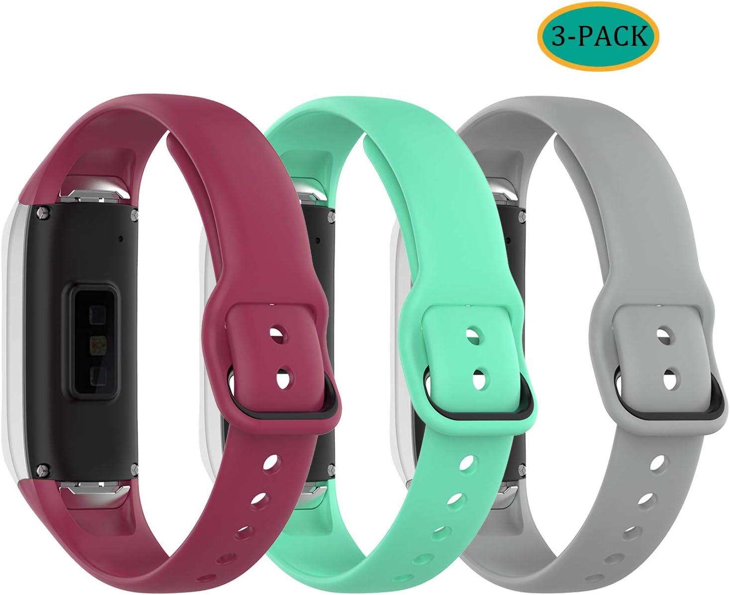 Malla Para Reloj Samsung Galaxy Fit Sm-r370 (gris verde rosa