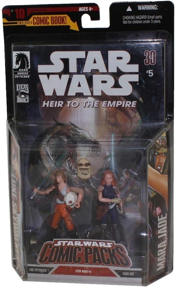 Hasbro Star Wars 3.75 Expanded Universe Marda Jake & Luke