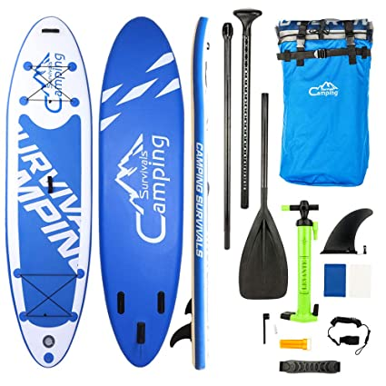 Inflatable Stand Up Paddle Board,All-Around Premium ISUP Board Surf Board w/