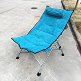Lunch break chair / recliner Office nap chair / folding chair / single lounge chair / backrest chair ( Color : D )