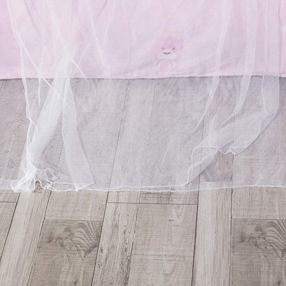 Geeignet F/ür EIN 1,5M Gro/ßes Bett Kinder Babyzimmer Moskitonetz F/ür Kinder 2,7M Lang Wirksame Moskitonetze Prinzessin Moskitonetz F/ür Reise und Zuhause Kuppel zum Aufh/ängen zur Floor-Moskitonetz