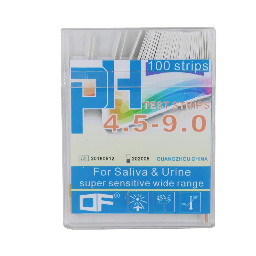 FairytaleMM Measuring Tool Strips Pack PH test strips PH Meter PH Controller Range Indicator Litmus Paper Water Soilsting Kit-white
