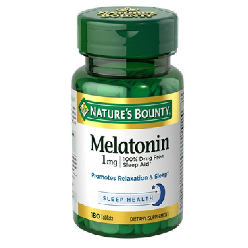 Amazon.com: Nature s Bounty Melatonina 1 Mg Tablets 180 ...