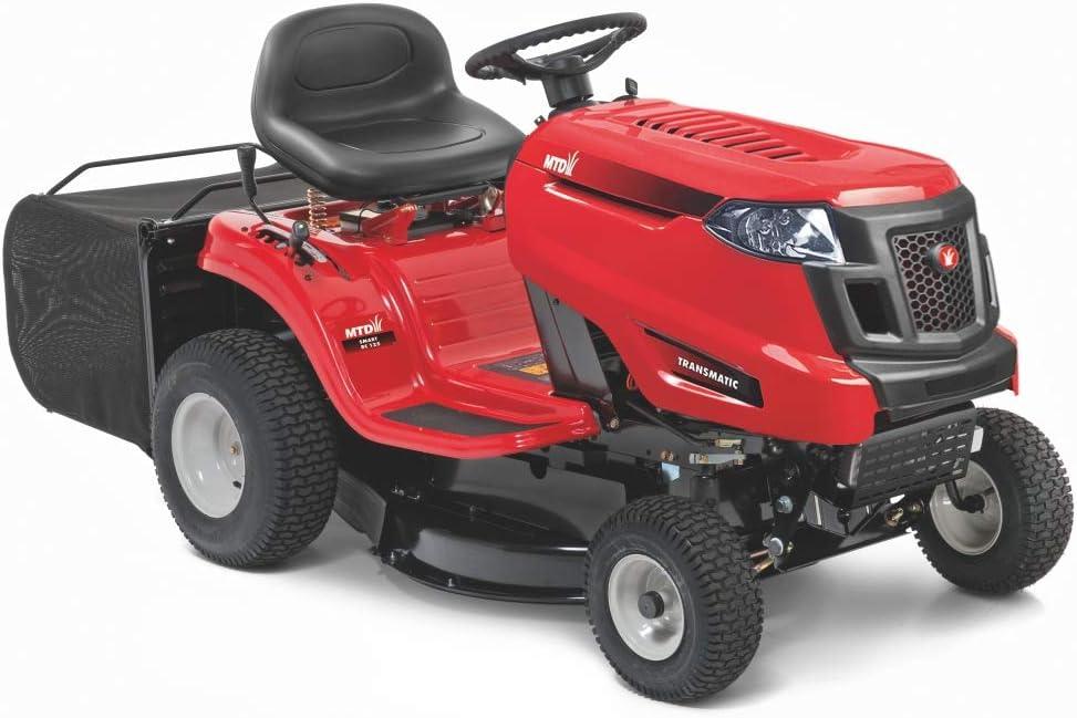 MTD RC125 Tractor cortacésped Smart RC 125 Trabajo para un jardín de 2.000 m2, Rojo