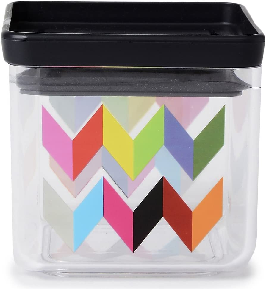 French Bull 24 oz. Dry Food Storage Container - Pantry, Airtight, Stackable - Ziggy