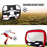 FidgetFidget Football Net Kids Soccer Training Sport Kids Soccer Goal Foldable L1I5 Portable