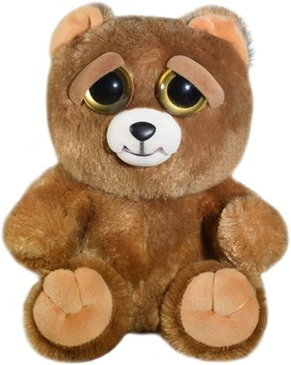 Feisty Pets Mini Sir Growls-a-lot the Bear Backpack Hanger