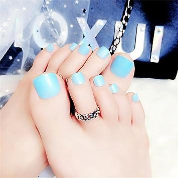 Amazon Toe Nail Art Tip Glue Artificial False Toenails