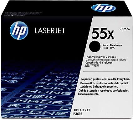 Hp 55x Ce255x Schwarz Original Toner Mit Hoher Reichweite Für Hp Laserjet Enterprise P3015 M525 Hp Laserjet Pro M521 Bürobedarf Schreibwaren