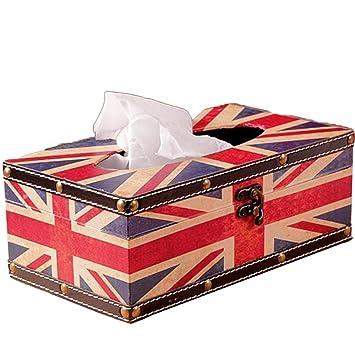 Kleenex Box, piel sintética pañuelos paños Caja Funda Toalla dispensador Trébol NEX Box, Tissue