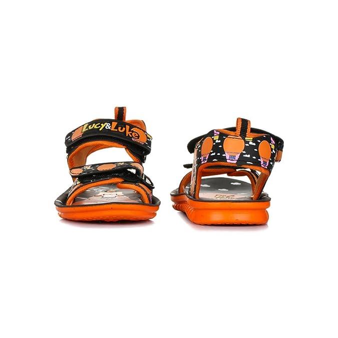 505281c42 Liberty Lucy   Luke Kids Casual Orange Sandals (PHANTOM-40-ORANGE-PU  CFB 31 12C)  Buy Online at Low Prices in India - Amazon.in