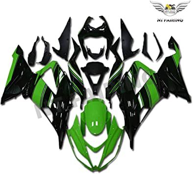 NT Gray Fairing Fit for Kawasaki Ninja 2013-2018 ZX6R 636 Injection Mold ABS Plastics Aftermarket Bodywork Bodyframe 2014 2015 2016 2017 ZX-6R AGY