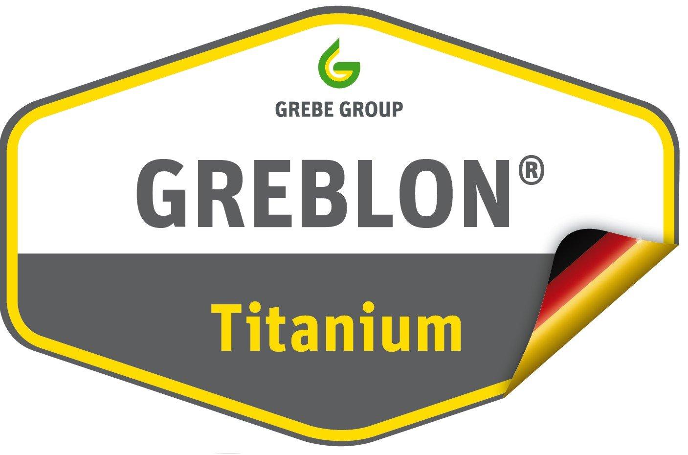 GSW Titanium Granit FerroTherm - Sartén honda, 24 centímetros: Amazon.es: Hogar