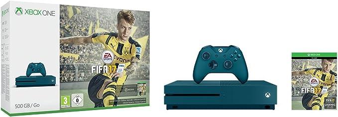 Xbox One S - Consola 500 GB, Color Azul + Fifa 17: Amazon.es: Videojuegos