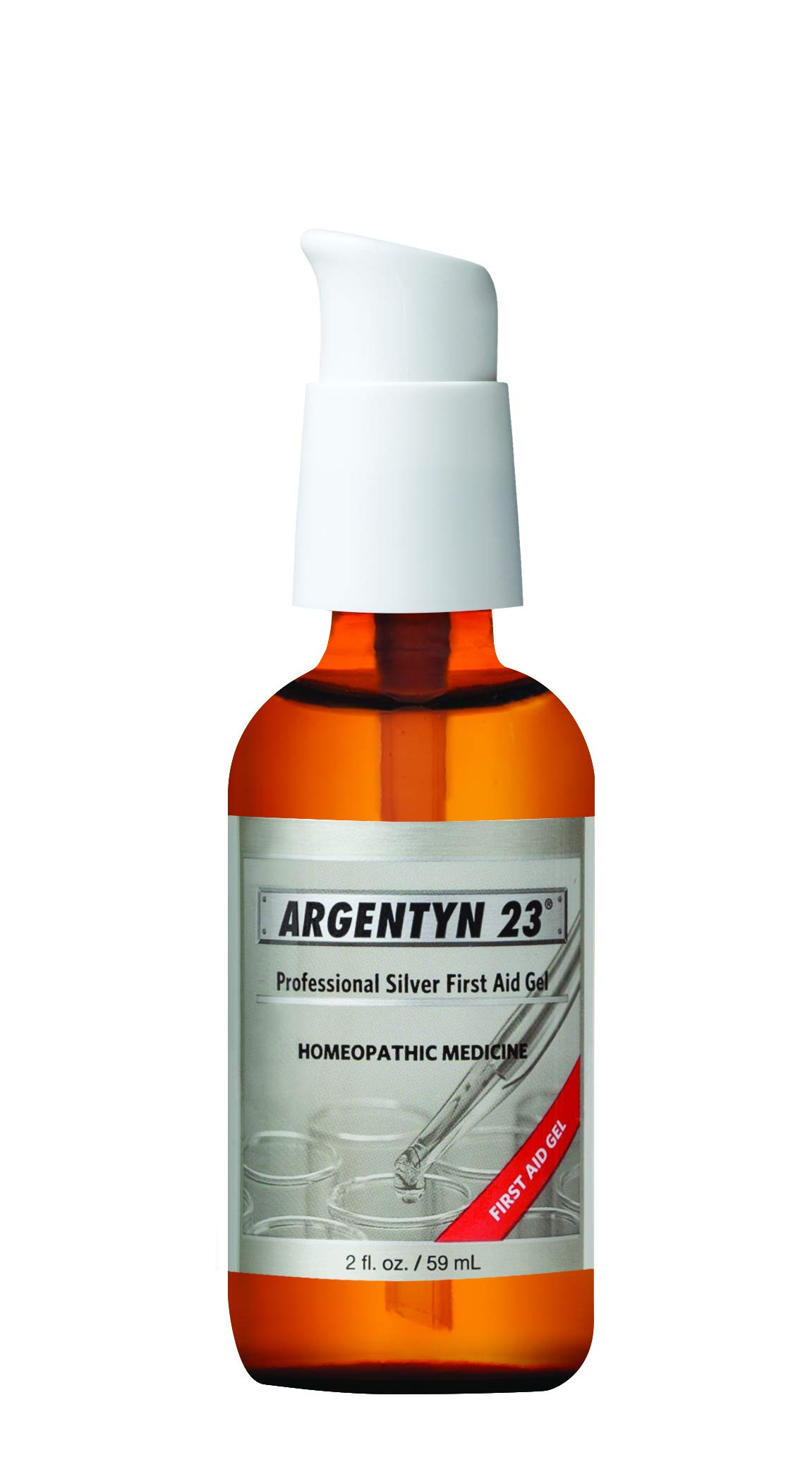 Argentyn 23® Professional Silver First Aid Gel - 2 oz. (59 mL) Bottle - Homeopathic Medicine for Topical Use by Argentyn 23