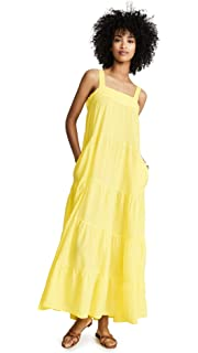 b7ea2743af4de 9seed Women's Sayulita Tier Maxi Dress at Amazon Women's Clothing store:
