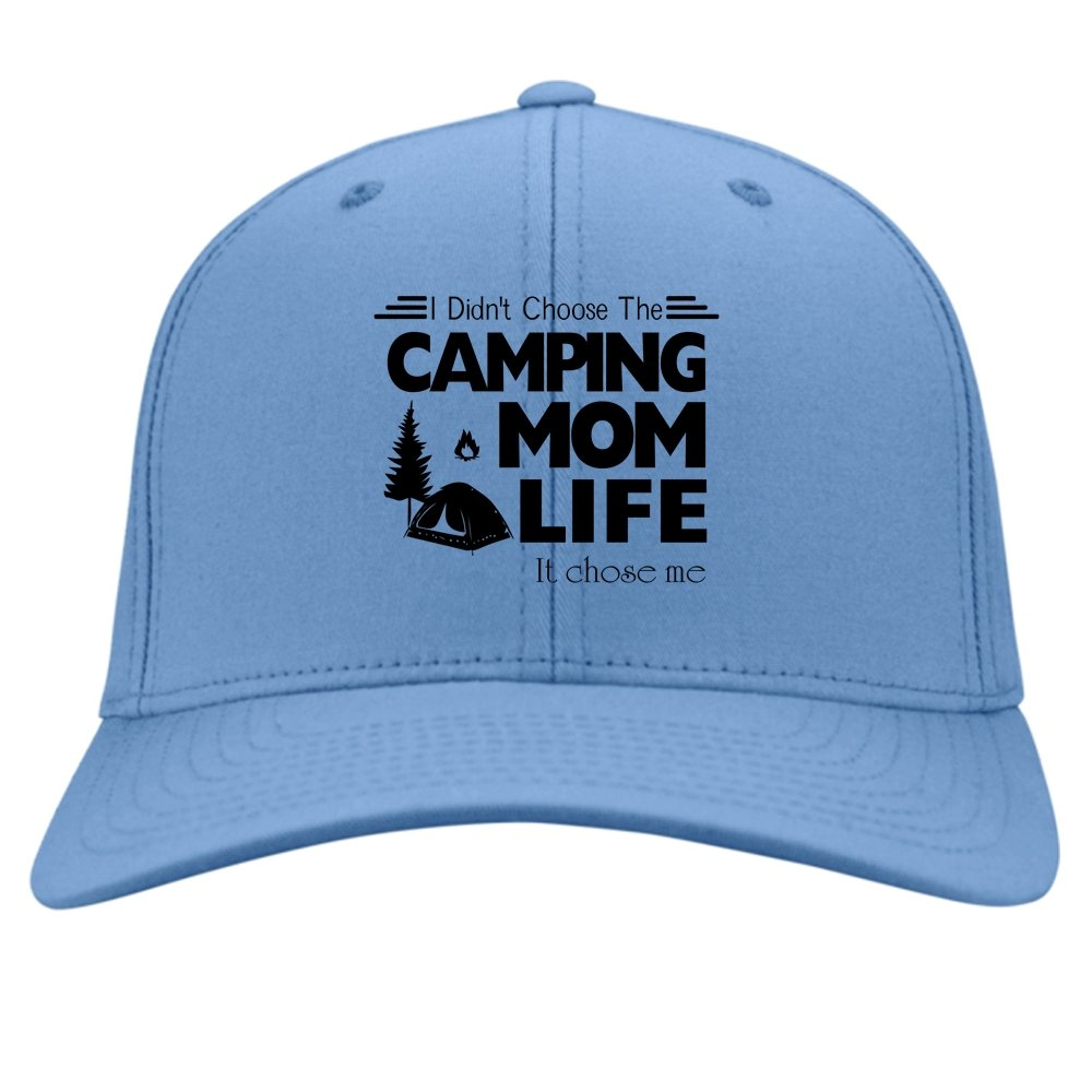 It Chose Me Hat I Didnt Choose The Camping Mom Life Knit Cap
