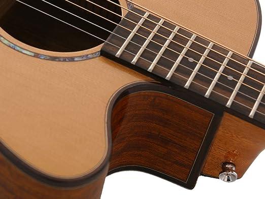 Ozark Folk Guitarra Om Cutaway laminado Koa/de cedro macizo ...