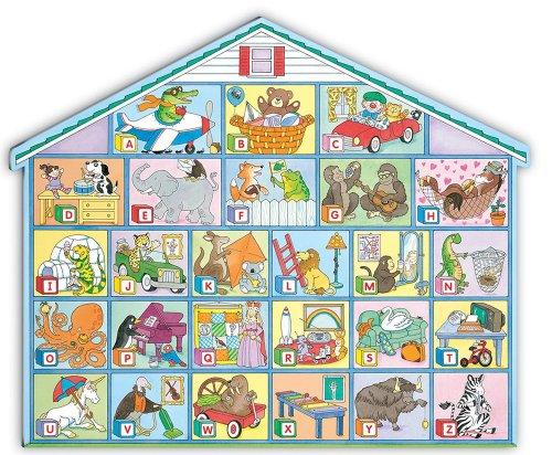 Alphabet House Floor Puzzle (Frank Schaffer Giant Floor ()