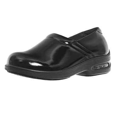 d4b0899223b8f2 Amazon.com  Shoes For Crews Women s Air Clog Leather Shoes 9071 Size 8 Black   Shoes
