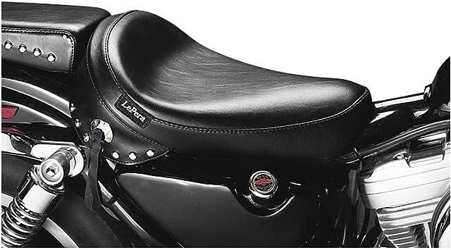 Le Pera Bare Bones Solo Seat Smooth Black for Harley-Davidson XL883 XL1200