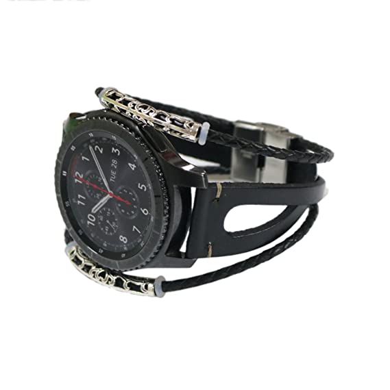 Amazon.com: Compatible with Samsung Galaxy Watch 46mm/ Gear ...