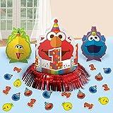 Sesame Street 1st Birthday 'Elmo Turns One' Table Decorating Kit (23pc)