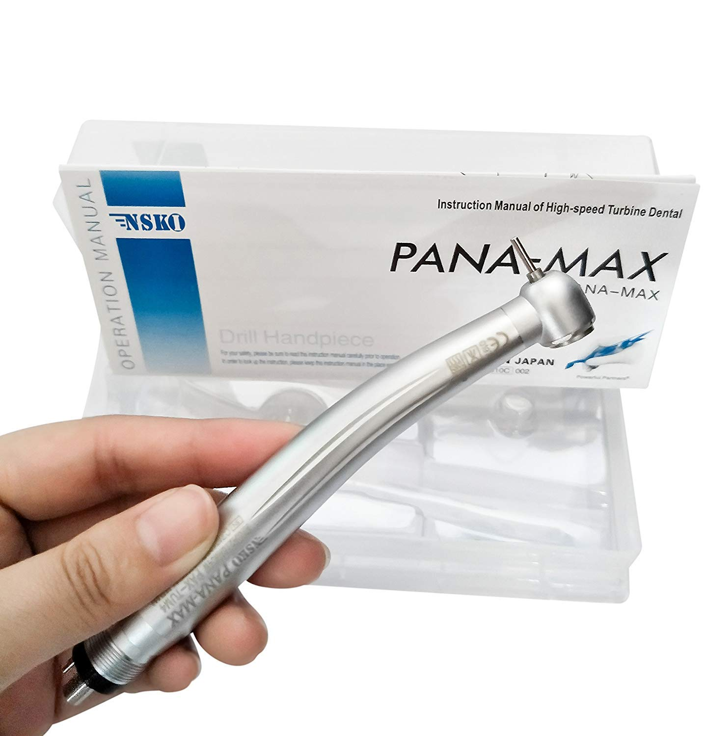 Cavhyg PANA MAX High Speed 4 Holes for Dental Adjustable Wrenches Push Button Oral Kit