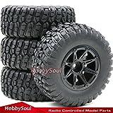 4x4 truck tires - 4pcs RC 1:10 Short Course Tires 12mm Wheel For Traxxas Slash 4x4 Rally Truck Car