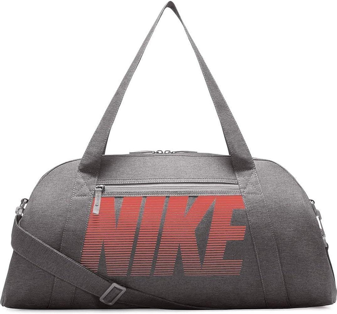 ccd9a516f Nike Women's Gym Club Training Duffel Bag (Atmosphere Grey/Atmosphere  Grey/Rush Coral