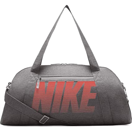 f7b309401a49 Nike Women s Gym Club Training Duffel Bag (Atmosphere Grey Atmosphere Grey Rush  Coral