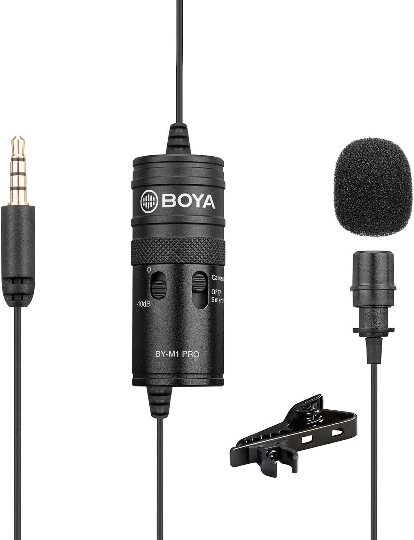 Überwachung Lavalier Mikrofon Boya By M1 Pro Elektronik