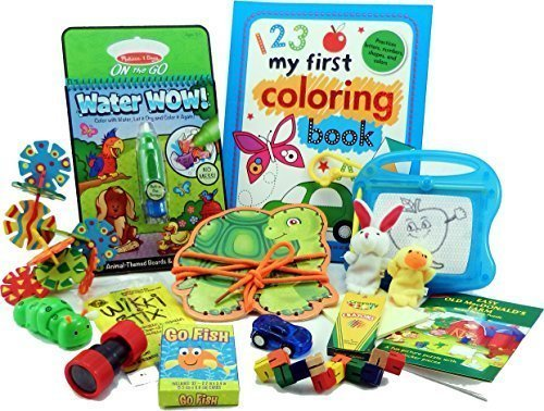 The Bag by Fun On The Fly - Travel Toy Activity Bag for Kids Ages 3 & Up