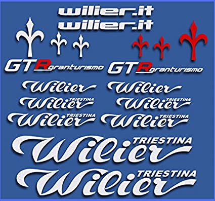 Pegatinas WILIER GTR Gran Turismo DR1111 Stickers AUFKLEBER Decals AUTOCOLLANTS ADESIVI