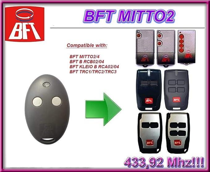Bft Mitto 2 2 Kanal Fernbedienung 433 92 Mhz Rolling Elektronik