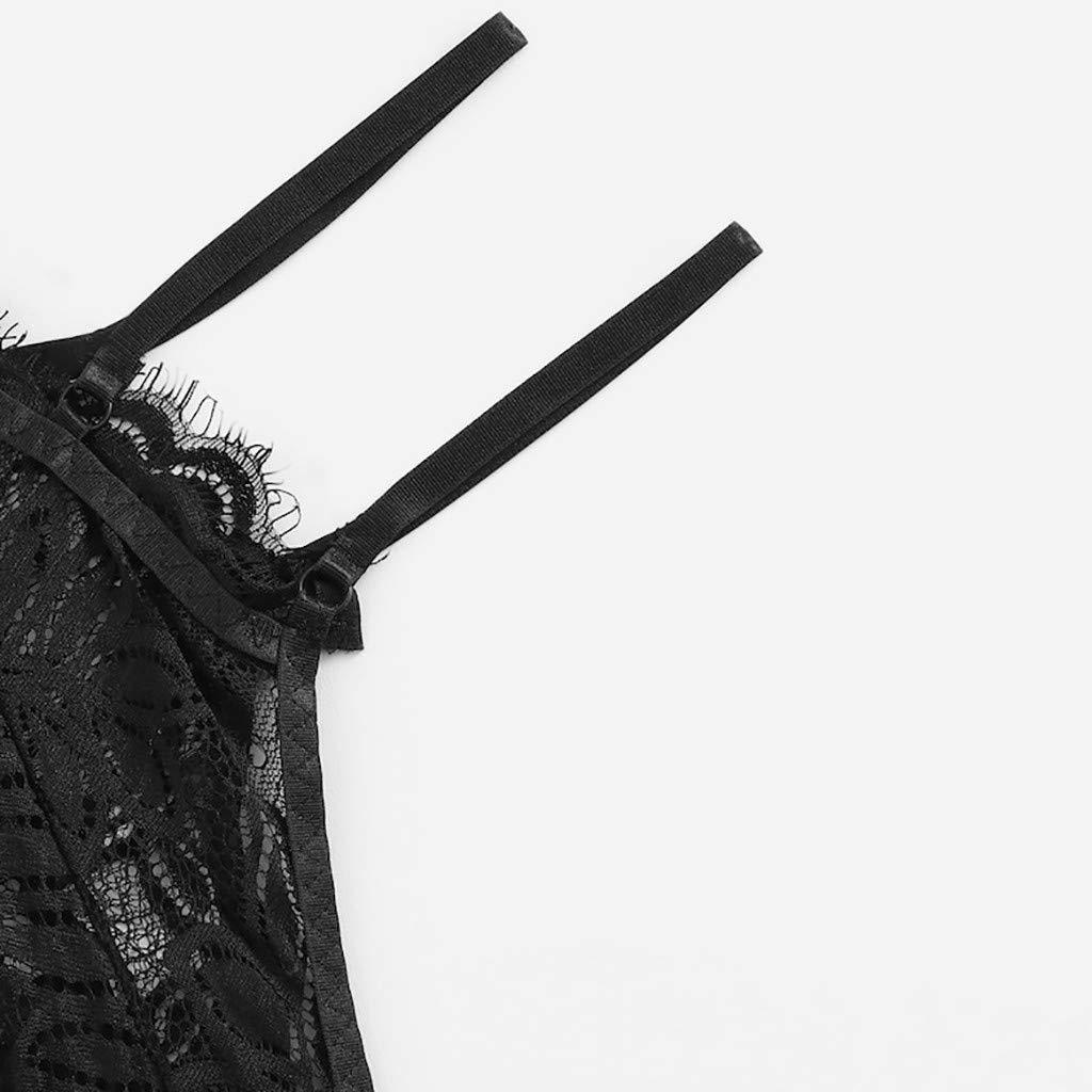 Ropa Interior De Las Mujeres Cors/é De Encaje De Encaje con Aros Perspectiva De Pesta/ñAs Ropa Interior Ropa De Dormir Ropa Interior Tops Conjunto De Escritos Resplend