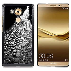 """S-type Medieval Calle Tallin Roma"""" - Arte & diseño plástico duro Fundas Cover Cubre Hard Case Cover For HUAWEI Ascend MATE 8"""