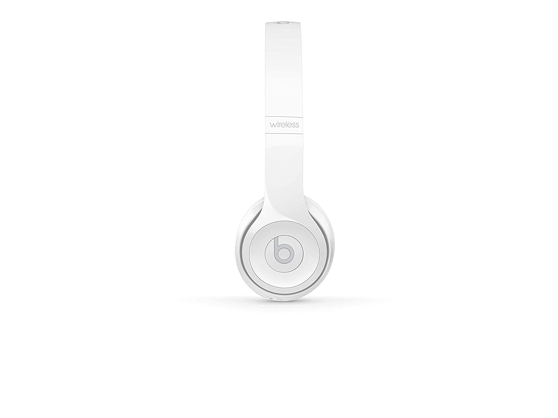 3a81a0008a987 Beats Solo3 Wireless On-Ear Headphones - Gloss White  Amazon.co.uk