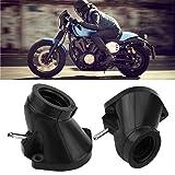 KIMISS 4Pcs Motorcycle Carb Carburetor Intake