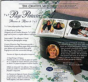 Page Protectors for 7x7 Scrapbook Pages