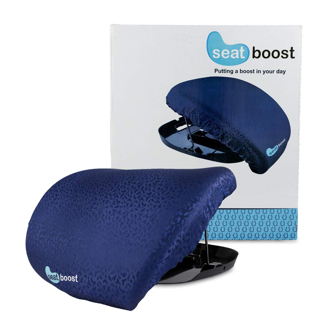 Stand Assist Aid for Elderly - Lifting Cushion by Seat Boost - Portable Alternative to Lift Chairs – Handicap Mobility Help for 70% Support up to 340 lbs