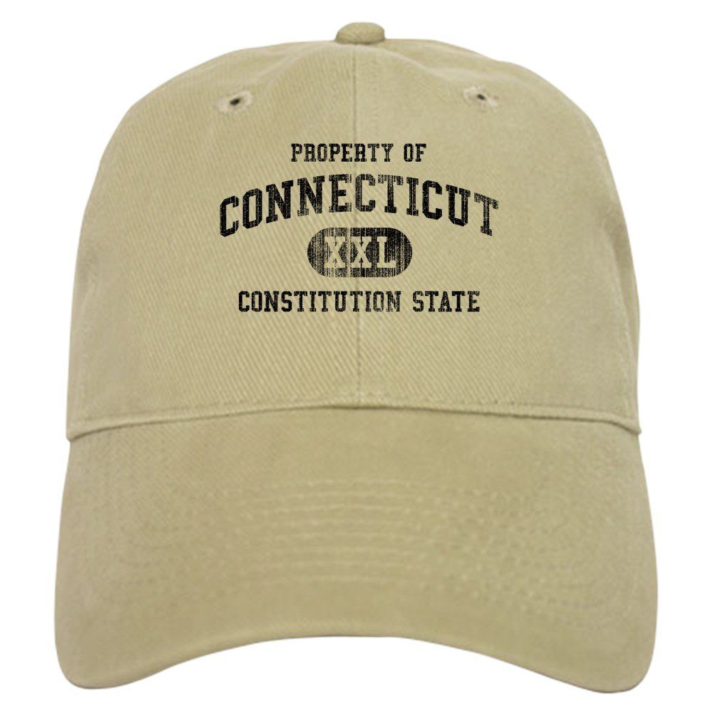 96c7f093191 Amazon.com  CafePress - Connecticut Cap - Baseball Cap with Adjustable  Closure
