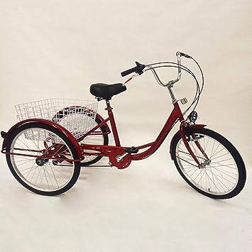BTdahong Triciclo para Adultos de 24